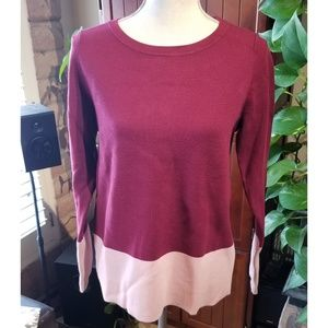 🆕️NWT Ann Taylor Brand Color Block Sweater